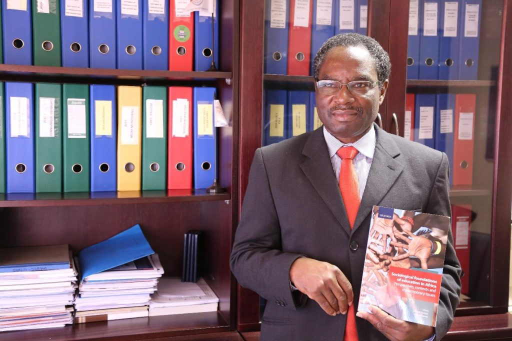 University of Venda Professor Publishes a Book to Revolutionise the Study of Education in Africa