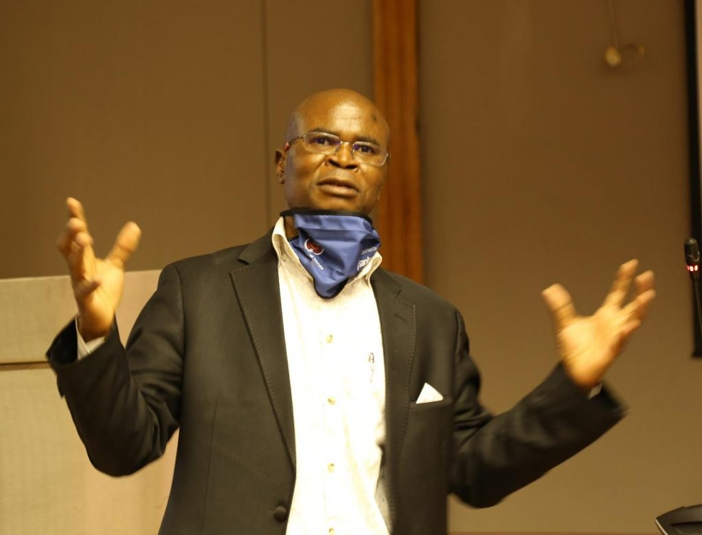 Prof Modimowabarwa Kanyane joins UNIVEN as the Executive Dean of the Faculty of Management, Commerce and Law