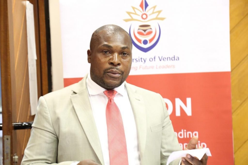 Adv Nemukula is the newly appointed UNIVEN Director Legal Services
