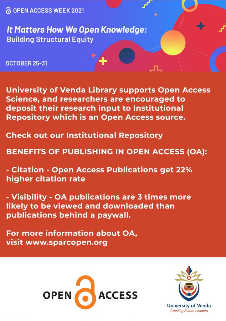 """2021 Open Access Week Theme to be """"It Matters How We Open Knowledge: Building Structural Equity"""""""
